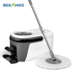 save power telescopic hand spin magic cleaning mop
