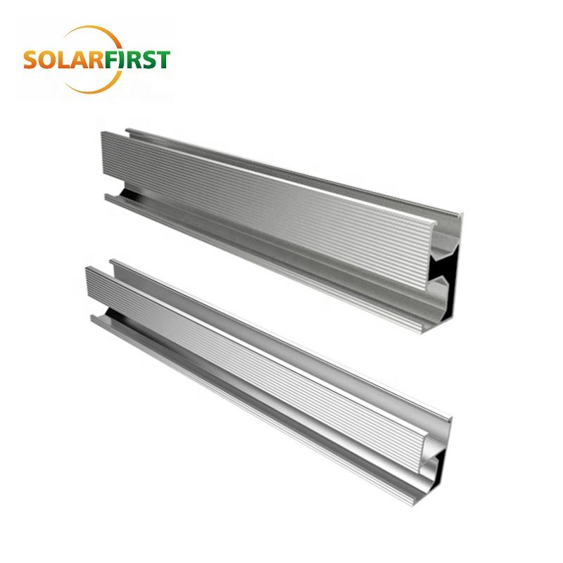 Aluminum Profile Roof Rail for Solar Mounting Structure
