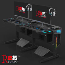 2020 Fashion and top selling  computer table gaming desk PC desk for Internet Bar