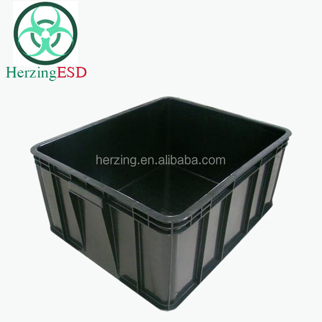 HJ-1826525 Groothandel 600*500*255 plastic <span class=keywords><strong>esd</strong></span> opslag bin box
