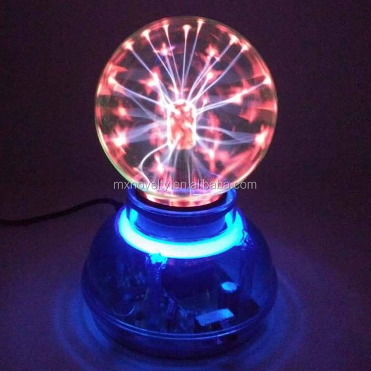 3 Inch Plasma Ball Bol Lightning Light Magic Desktop Kids Kind Party Decoratieve Plasma Bal Lamp Licht
