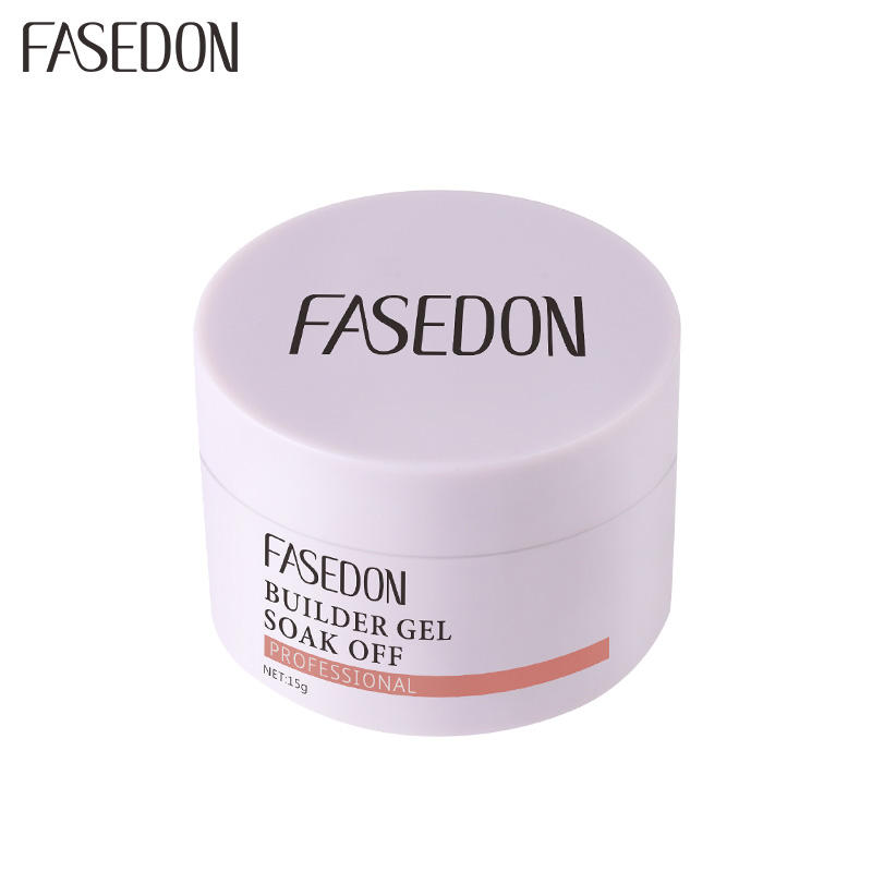Fasedon ongles gel kit d'extension cure UV et LED lampe à ongles