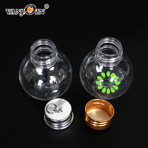 Decorated Clear Plastic Christmas Tree Ornaments Spectacularly Easy DIY Ornaments PET bottle for decoration