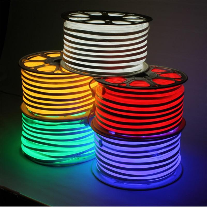 LED rope light 5cm cut freestanding neon light