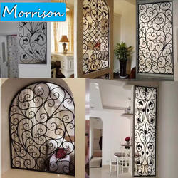 New 2020 High Quality Simple Iron Window Ornamental Wrought Moder Steel Iron Window Grill Design For Home