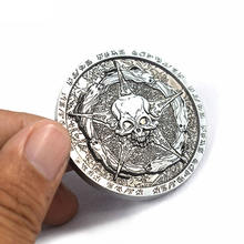 China Supplier Silver Coin Custom Pirate Challenge Souvenirs Coins With OEM