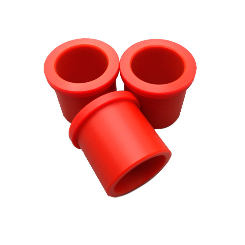 Customized wear-resistant plastic nylon UHMW PE bushing