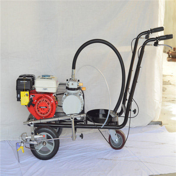Road Sports Marking Line Paint Machine/Line Marking Machine For Running Track