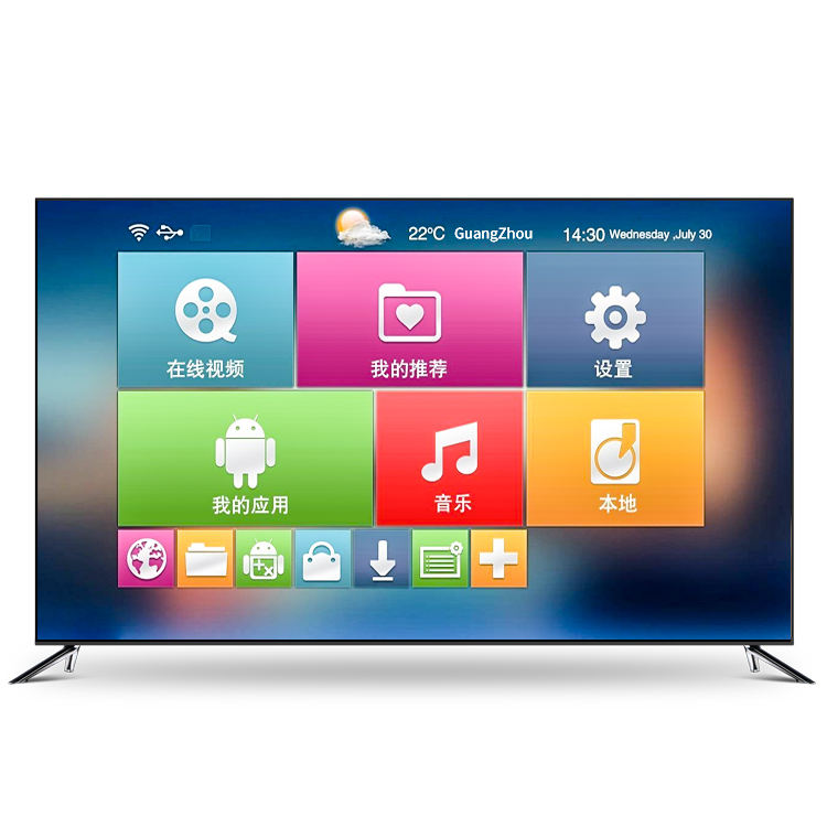 Weier OEM Androidtv 4K LED Television Smart Android TV