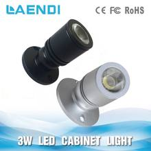 surface mounting 170-180lm 2w led spot lamp for jewelry funiture lighting