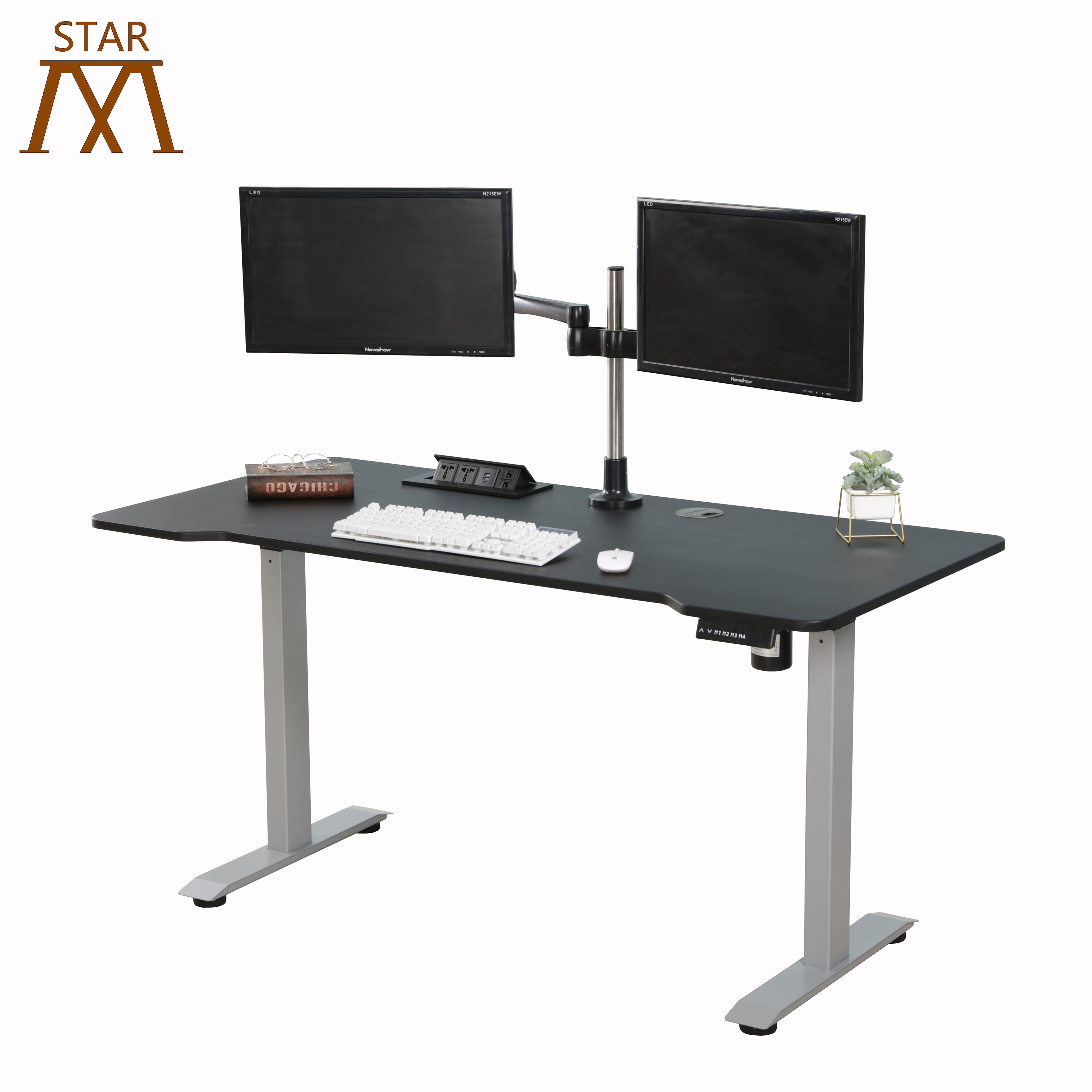 Electric Height Adjustable Stand Up Desk