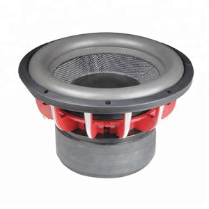 15/10/12 Inch spl Car Subwoofers or 12 inch subwoofer powerful Car audio Speaker subwoofer dual 2 ohm