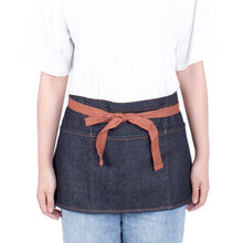 Kefei half waist apron,denim apron,barista apron with 3 pockets