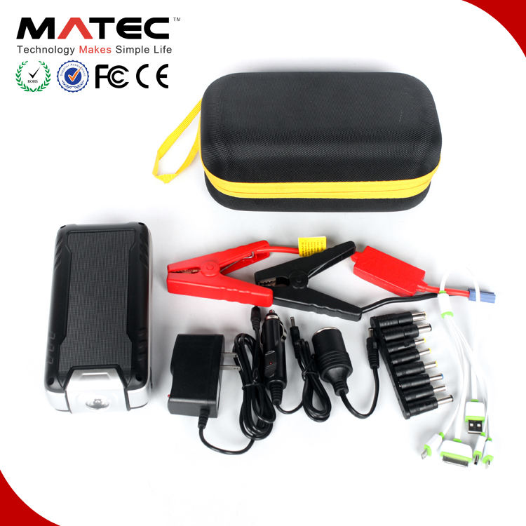 Multi-function 24000mah battery charger 12V 24V portable car jump starter pack powerbank car jump starter