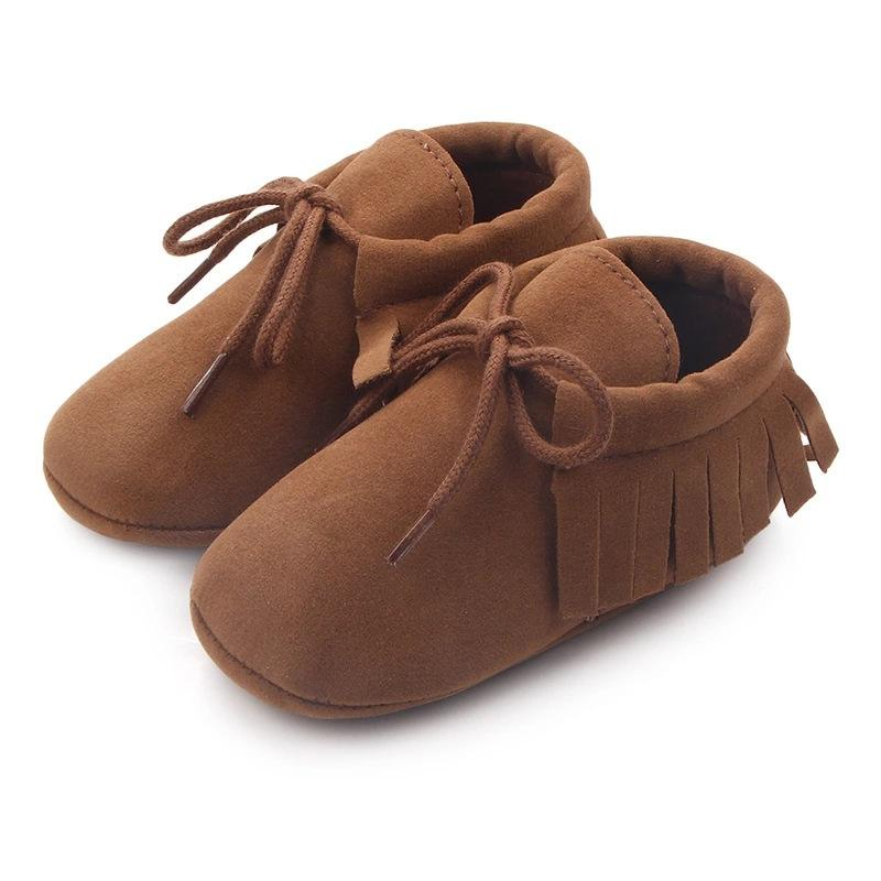 B22232A Best sellers Baby Toddler stylish tassel Lace-up Toddler shoes