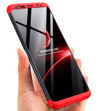 GKK host sell 3 in1 mobile phone case Hard full protection cell phone cover for Samsung Galaxy s9 plus