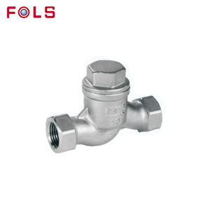 cheap male threaded check valve stainless steel swing check valve