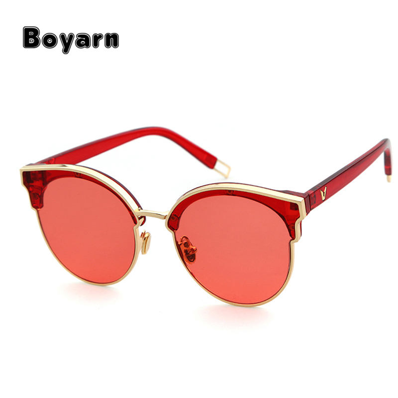New Cat Eye Sunglasses Vintage Summer Style High Quality Brand Design for Women girls sunglasses latest fashion UV400