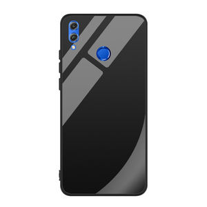 9 H 강화 (gorilla Glass) 백 cover TPU soft 셀 phone case 대 한 Huawei 명예 8X
