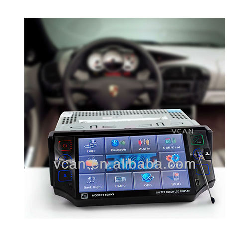 GPS-556 5.0 بوصة car dvd gps bt بود <span class=keywords><strong>واجهة</strong></span> usb sd tv راديو مع ميكروفون