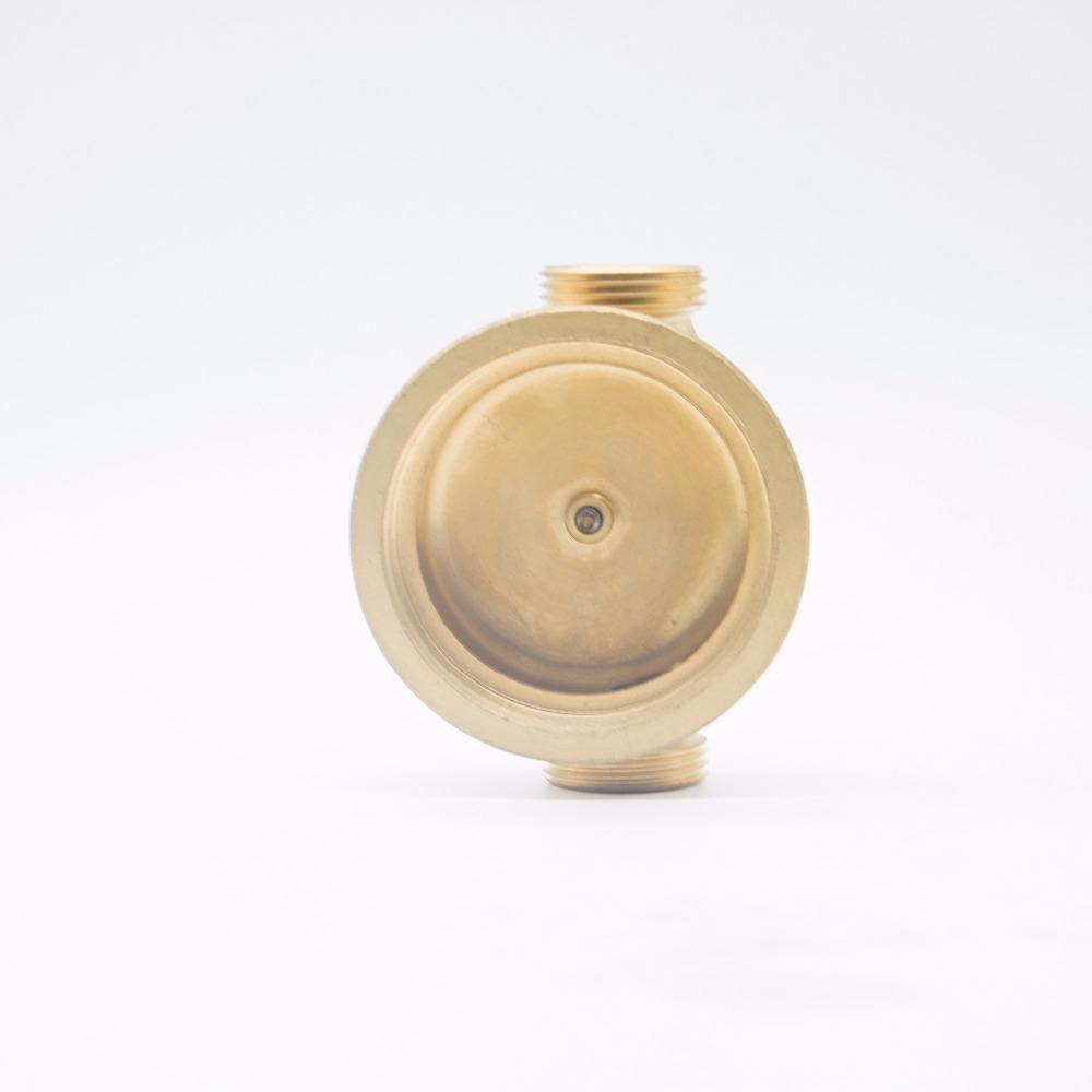 DN15-DN20 Mechanical Brass Water Meter Body for Digital Water and Flow Meter