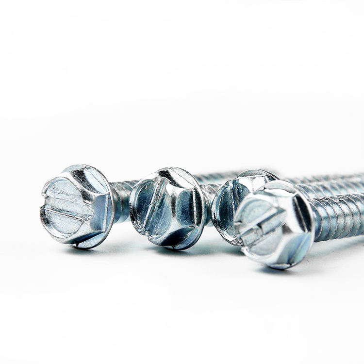 hex head cross slot self tapping screw