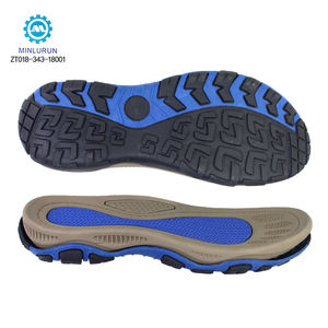 Fancy Fashion Light Weight Custom Colors Logo OEM EVA MD Phylon Sole TPR Rubber Outsole For Sandal Shoe