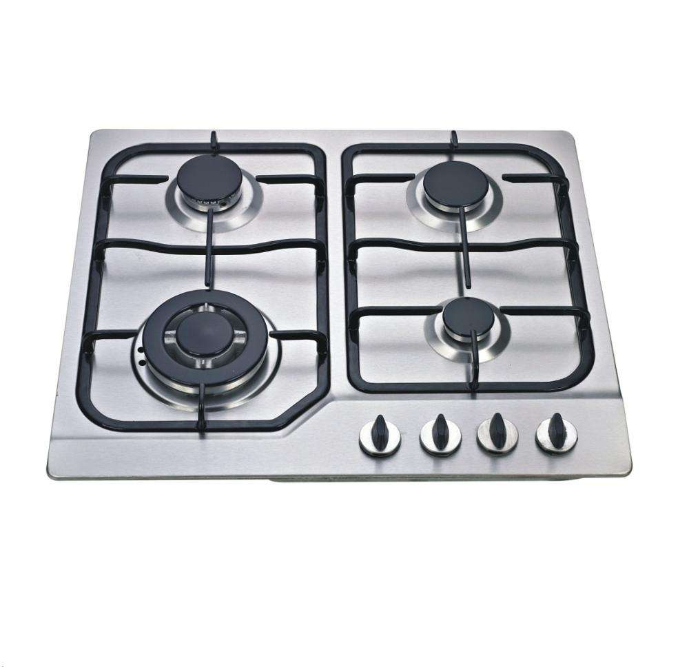 "홈 4 Burner 23 ""(58 CM) 가스 쿡탑 Stainless Steel Hob NG & LPG Conversion Kit 쿡 탑 스토브"
