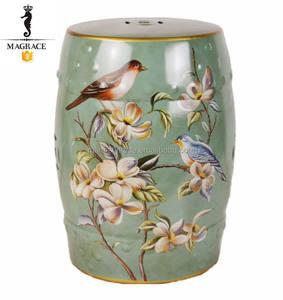 asiatische keramik garten hocker
