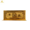 One million Dollar banknotes American US currency Banknote Plated 24k gold leaf