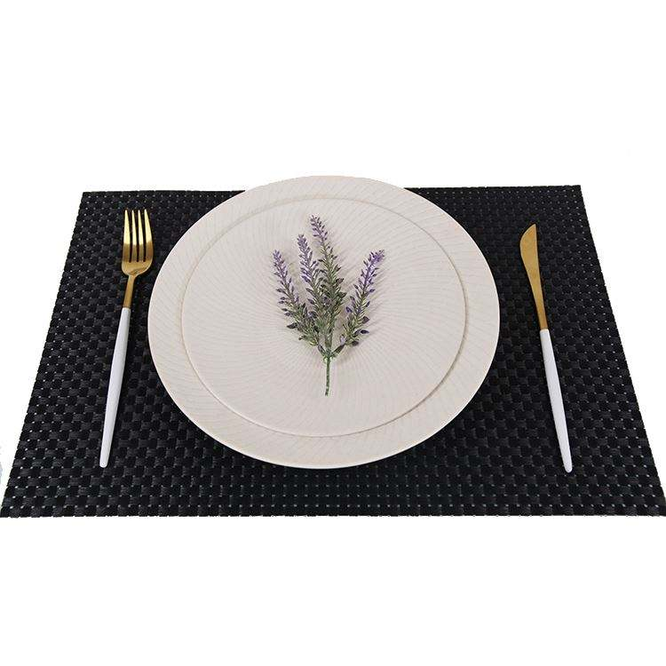 New selling p table mat newest anti-slip waterproof pvc dinner mat placemat