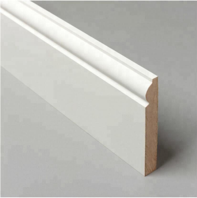 25 mm PVC Plastique Plinthe Architrave Trim-Cadre de porte Kit-Fenêtre//Garniture Porte