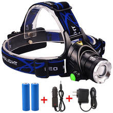 Hotsale Outdoor Headlight Waterproof T6 LED 1000 Lumens Camping Headlamp