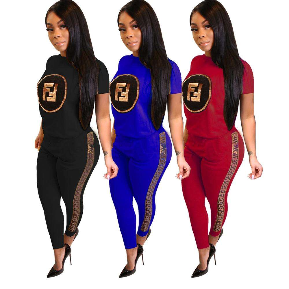 two piece set women clothing womens clothing latest design 2019 women tracksuit set