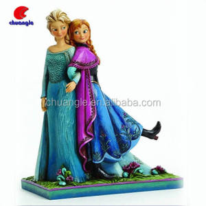 Custom Hot Elsa & Anna Frozen Beeldjes