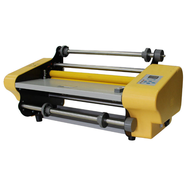 SG-358 Small A3 Hot & Cold School Office Roll Laminating Machine For BOPP Film/Foil/Pouch Laminator