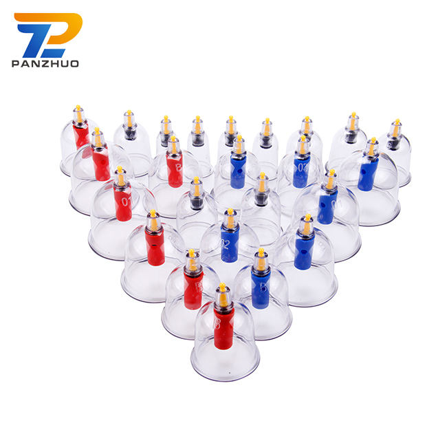 Hansol Massage Hijama Cups Cupping Vacuum 24 Set