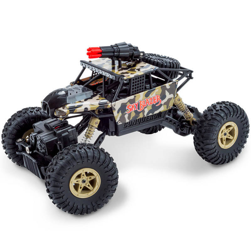 RC Auto 1/18 2,4 ghz 4WD RC Raketen Auto mit 0.3MP Wifi FPV Kamera Off-road Rock Crawler RTR SUV