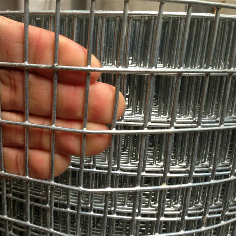 0.5-2 mm 1/2x1/2 1x1 1.5 inch 1/4 50x50 1cm square mesh galvanized after welding hot dipped galvanized gi welded wire mesh roll
