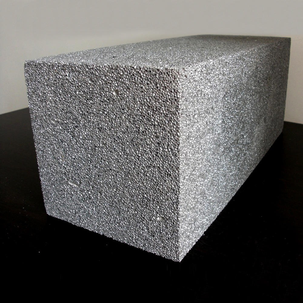 Closed cell Acoustic Aluminum Foam Panel