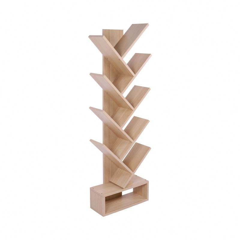 New Design Tree Shaped Modern Wood Book Shelf For Sale Cheap Price