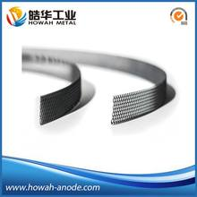 mmo coated titanium dimensionally stable concrete ribbon anodes
