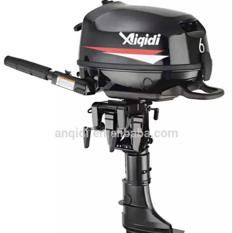 short shaft 6HP outboard motors with water cooling F6