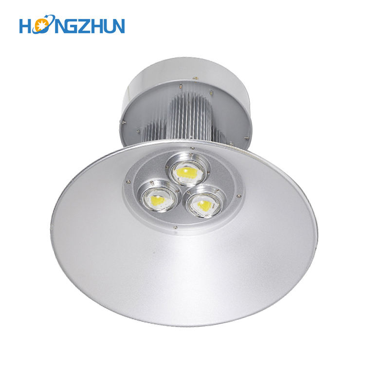 High lumen industrial Meanwell cob IP54 Aluminum 100w 150w 200w 250w led high bay light