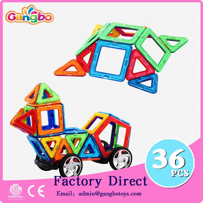36 pcs Magformers Standard Ensemble éducatifs magnétique blocs de construction jouets