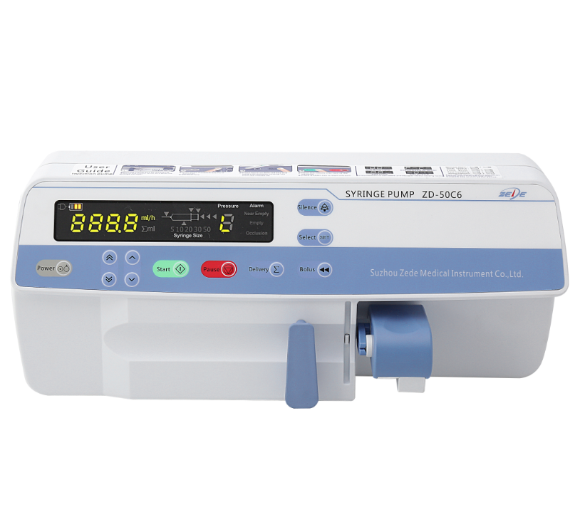 Hot sell high quality electric Syringe infusion pump