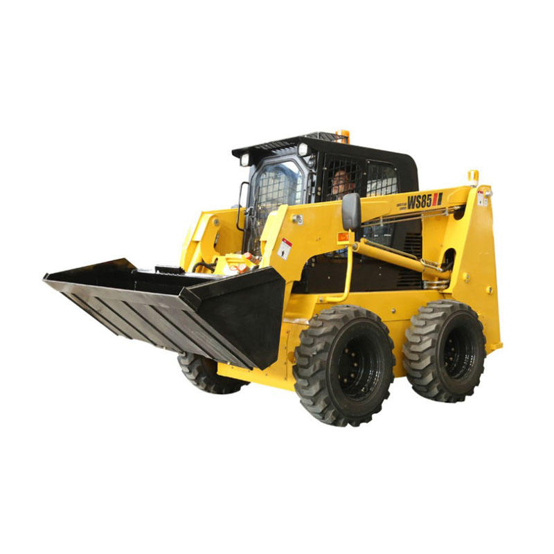 1050kg loading capacity skid steer loader with high flow hydraulic control for sale