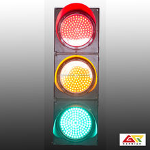 200mm series traffic signal lamb full ball led light