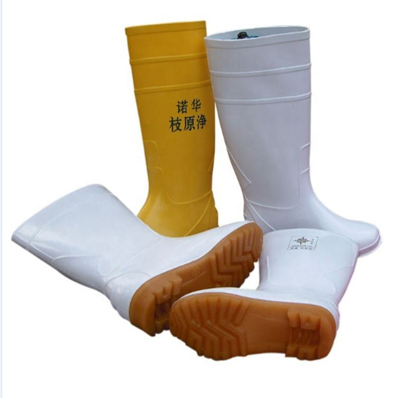 High Boots Food Factory PVC Rain Boots Knee Boots Waterproof