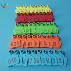 RFID TPU Material Pig/Cattle/Goat Animal Ear Tag